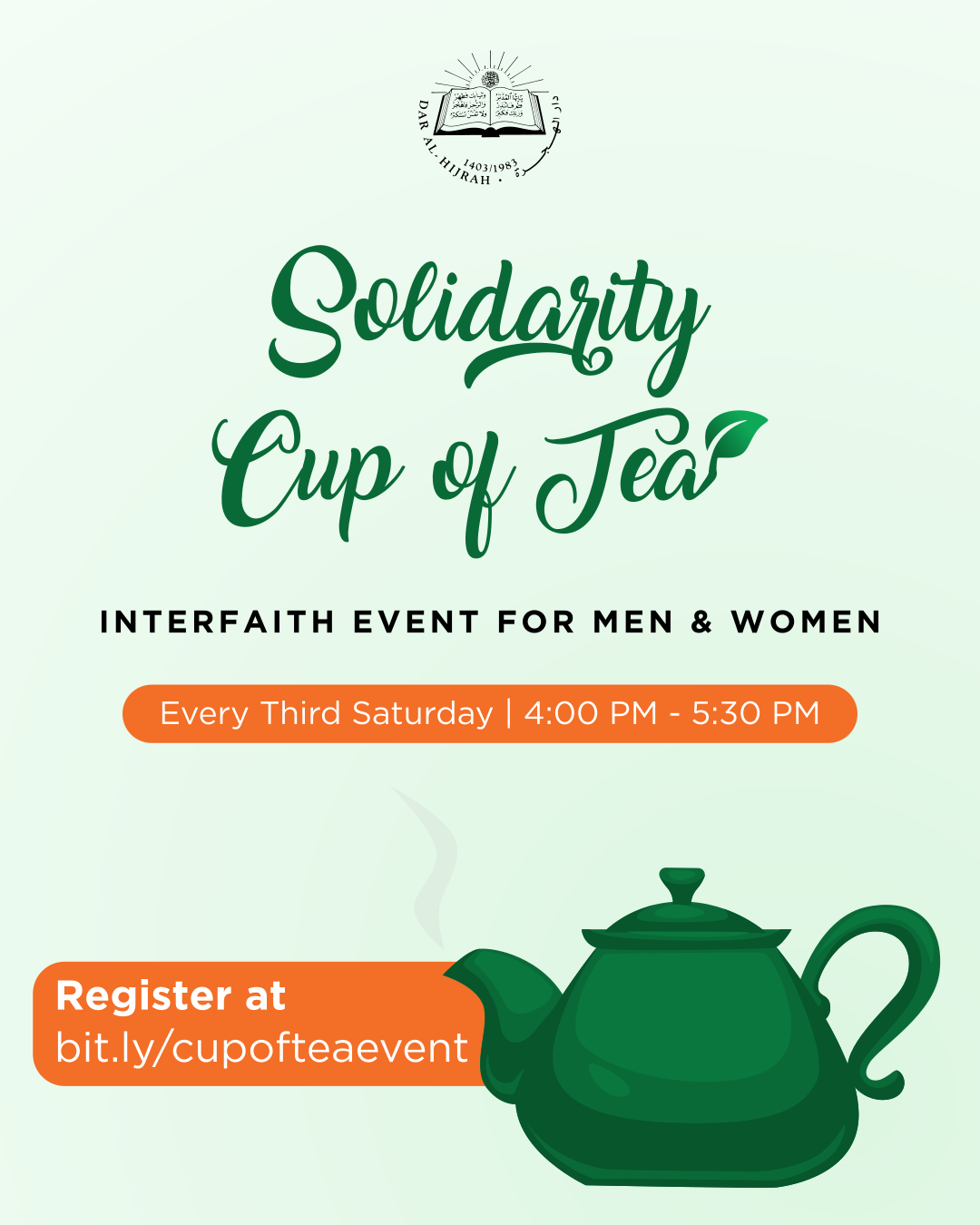 Solidarity Cup of Tea - Dar Al-Hijrah 4